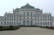 El palacio de Stupinigi.