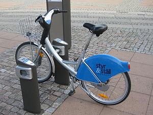 Styr & Ställ - Parked bicycle.