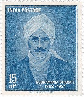 Subramania Bharati Tamil poet