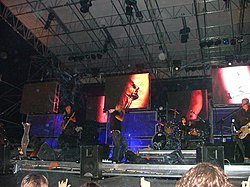 I Subsonica in concerto nel 2005