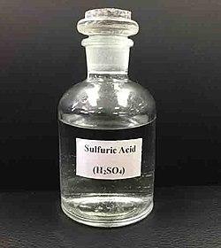 серная кислота 1 10