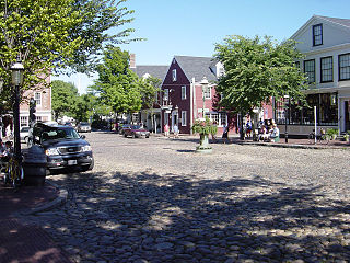 Nantucket Historic District United States historic place