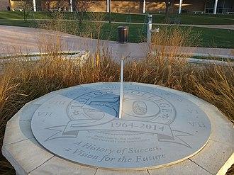 Triton College - Image: Sundial at Triton