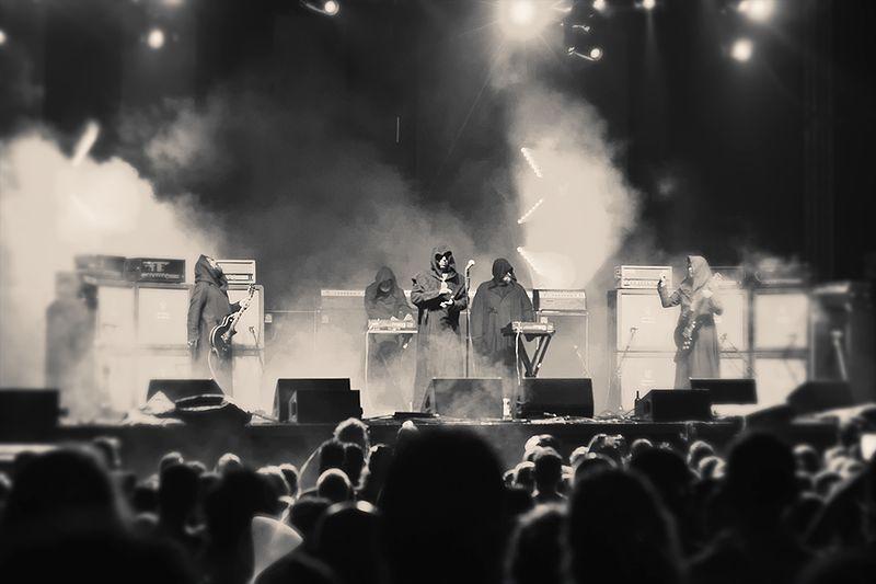Sunn O))) Performing at Moogfest 2016.jpg