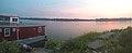 Sunrise over the Mississippi River (37085627491).jpg