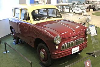 Suzuki Suzulight - Early Suzulight SD (delivery van)