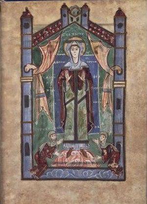 Essen Abbey - Image: Svanhild Evangeliar