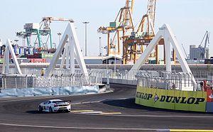 Valencia Street Circuit - Image: Swing bridge Valencia Street Circuit