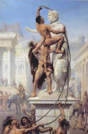 Joseph-Noël Sylvestre - Image: Sylvestre Le Sac de Rome 1890