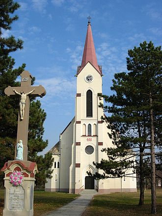 Svilojevo - Saint Stephen the King Catholic Church.