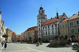 Třeboň - Masaryk Square
