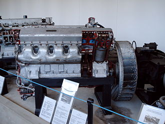 Kharkiv model V-2 - Another view of the engine