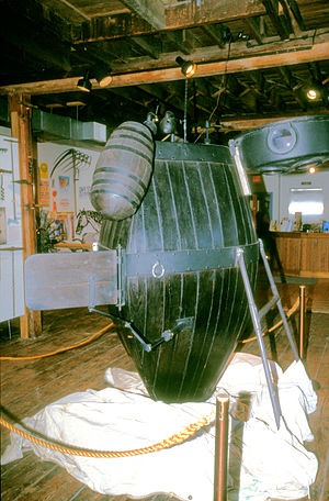 Connecticut River Museum - Replica of the Turtle