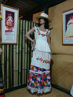 Chontalpa - Traditional dress from the Chontalpa region