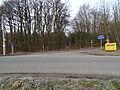 Tachlovice a Kuchař, hranice okresů, křižovatka silnic 10121 a 10122.jpg