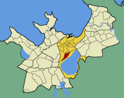 Luite within the district of Kesklinn (Midtown).