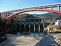 Tamayodo Dam and Sueno-ohashi Bridge.jpg