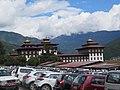 Tashichho Dzong Fortress in Thimphu during LGFC - Bhutan 2019 (153).jpg