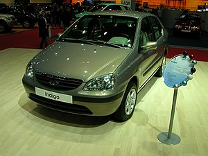 Tata Indigo - Image: Tata Indigo in Geneva 2005