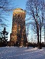 Taufstein bismarckturm winterabend ds wv 02 2006.jpg