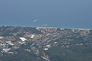 Tekirova Town in Antalya Province, Turkey