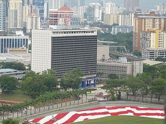 Tenaga Nasional - The Tenaga Nasional headquarters in Bangsar.
