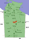 Tennant creek location map in Northern Territory.PNG