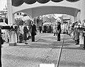 Tewaterlating Zweeds schip Kungsholm. Prinses Sybilla van Zweden doopt schip, Bestanddeelnr 905-3690.jpg