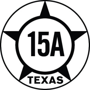 Texas State Highway 15 - Image: Texas Hist SH15A