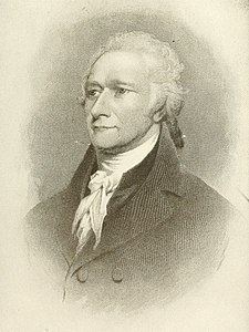 Alexander Hamilton founded the Post in 1801 The Americana; a universal reference library, comprising the arts and sciences, literature, history, biography, geography, commerce, etc., of the world (1908) (14765342825).jpg