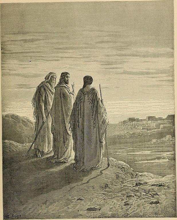 엠마오로 가는 길 (귀스타브 도레, Gustave Dore, 1866년)