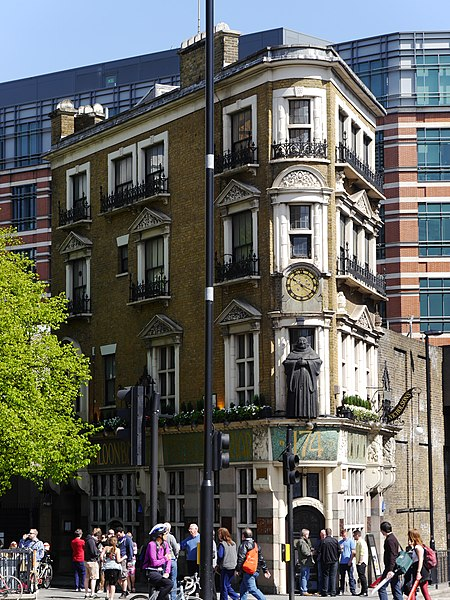 Black Friar Pub, London. From London's 8 Most Unique Pubs