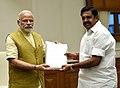 The Chief Minister of Tamil Nadu, Shri Edappadi K. Palaniswami calls on the Prime Minister, Shri Narendra Modi, in New Delhi on February 27, 2017 (1).jpg