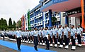 The Chief of the Air Staff, Air Chief Marshal Arup Raha being presented the Ceremonial Guard of Honour on his arrival, at Eastern Air Command IAF Shillong on August 12, 2015.jpg