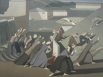 Winifred Knights - The Deluge (1920) by Winifred Knights