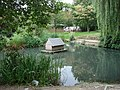 The Duckpond in the small park on the frontage of South Kirkby Police Station. - geograph.org.uk - 539274.jpg