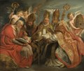 The Four Fathers of the Latin Church - Nationalmuseum - 17598.tif