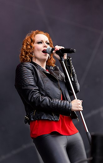 Anneke van Giersbergen - Anneke van Giersbergen performing with The Gentle Storm at Rockharz Open Air 2015