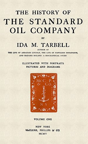 The History of the Standard Oil Company - Image: The History of the Standard Oil Company
