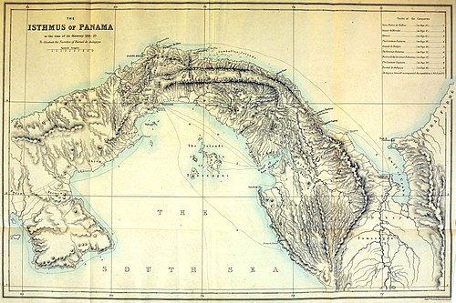 The Isthmus of Panama at the time of its discovery 1513-23