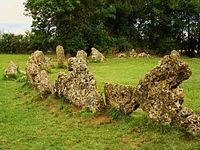 The King's Men stone circle, Rollright Stones.jpg