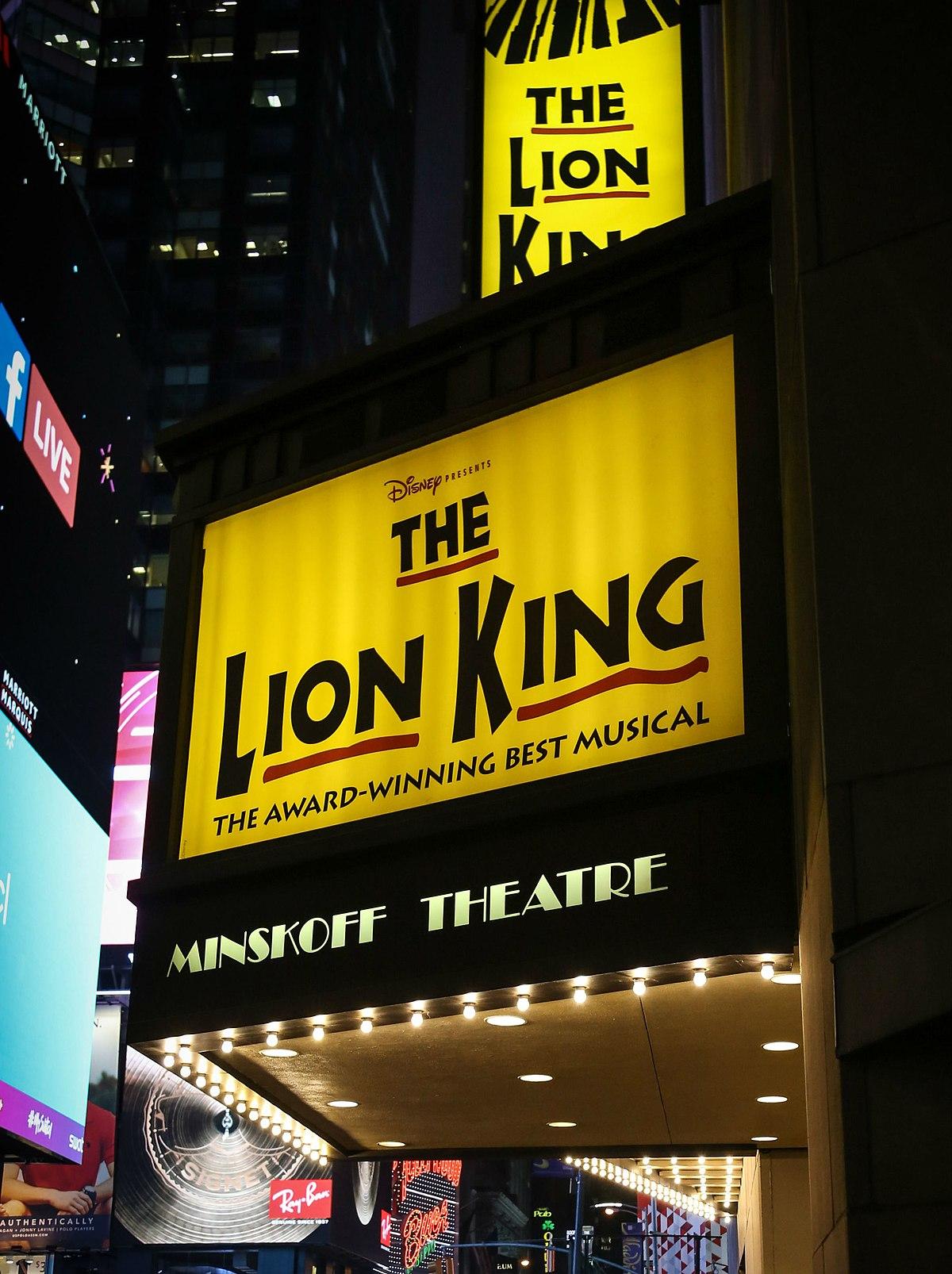el rey le u00f3n  musical