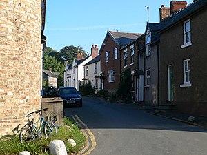 Llansilin - The Oswestry Road through Llansilin