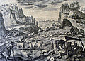 The Phillip Medhurst Picture Torah 40. Jabal's tents and cattle. Genesis cap 4 v 20. De Vos.jpg