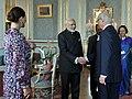 The Prime Minister, Shri Narendra Modi calls on His Majesty the King Carl XVI Gustaf of Sweden, in Stockholm, Sweden on April 17, 2018.JPG