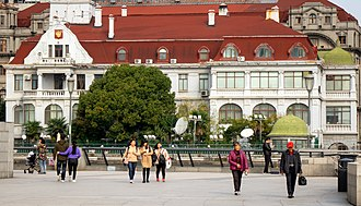 The Bund - The Russian Consulate on the Bund at 20 Huangpu Rd, Hongkou Qu
