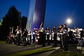 The U.S. Air Force Band performs in a public concert at the Air Force Memorial to honor Vietnam War veterans (29504677625).jpg