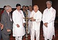 The Union Power Minister, Shri Sushilkumar Shinde lighting the lamp to inaugurate the Conference of Power Ministers of States and UTs, in New Delhi on June 23, 2009.jpg