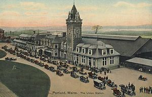 Bar Harbor Express - Union Station in Portland, Maine