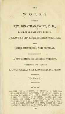 The Works of the Rev. Jonathan Swift, Volume 11.djvu